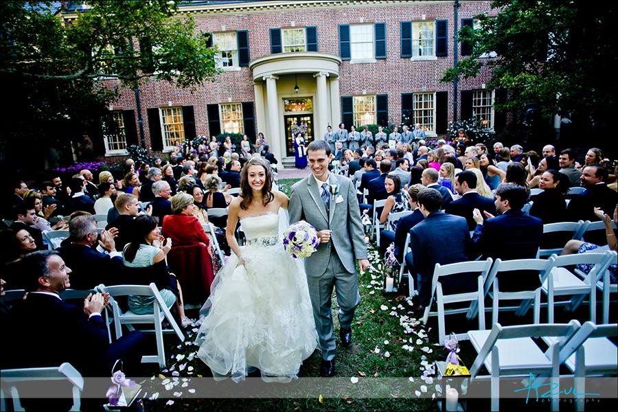 October ceremony at The Carolina Inn