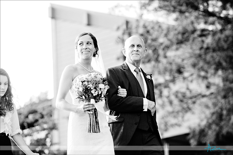 Beautiful wedding day ceremony photographer Rumbling Bald Lake Lure NC