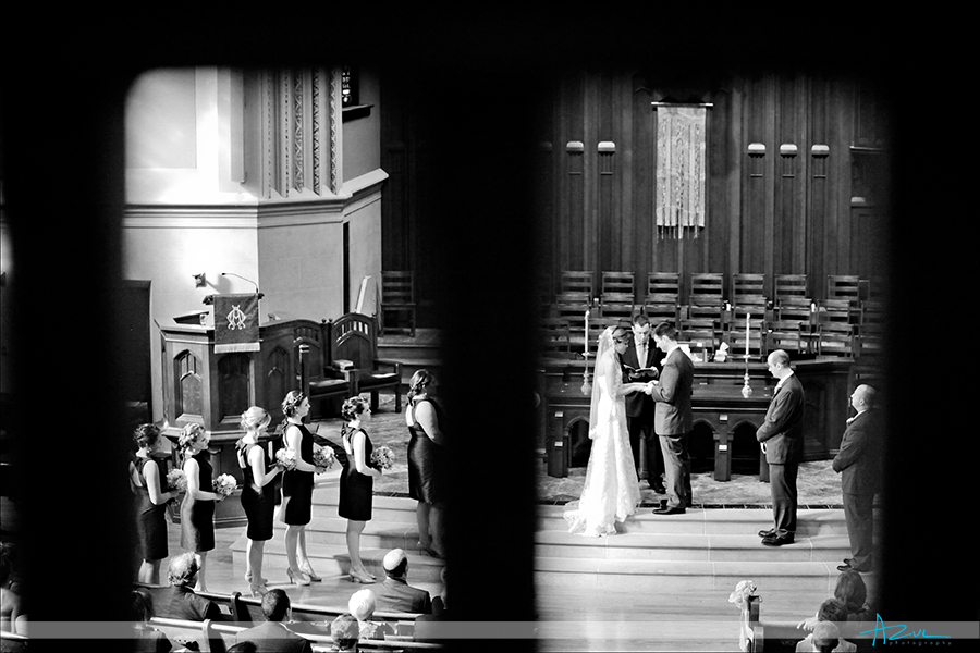First Presbyterian Church Durham NC wedding ceremony