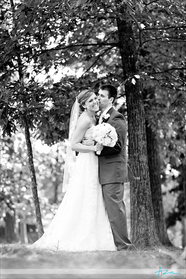 Unique wedding day portrait photography of B&G on the big day Raleigh NC