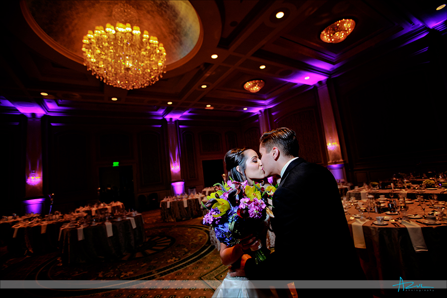 Raleigh wedding ceremony photography of couple at  Prestonwood CC in Cary NC