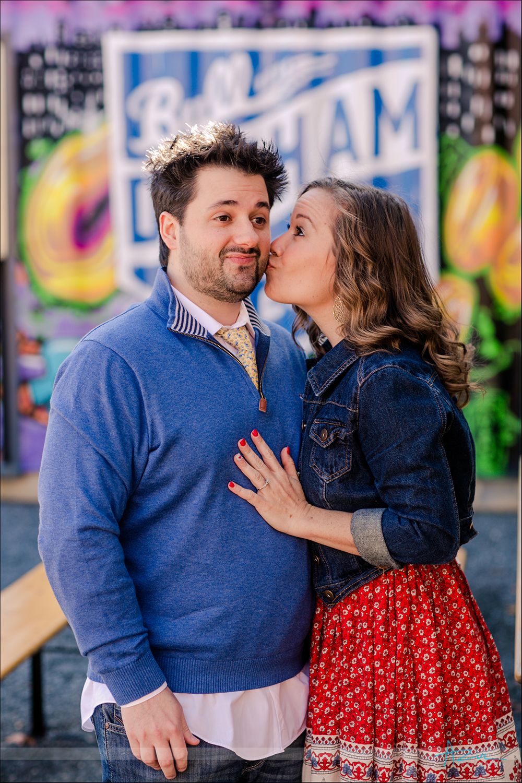 Raleigh wedding engagement portrait photographer