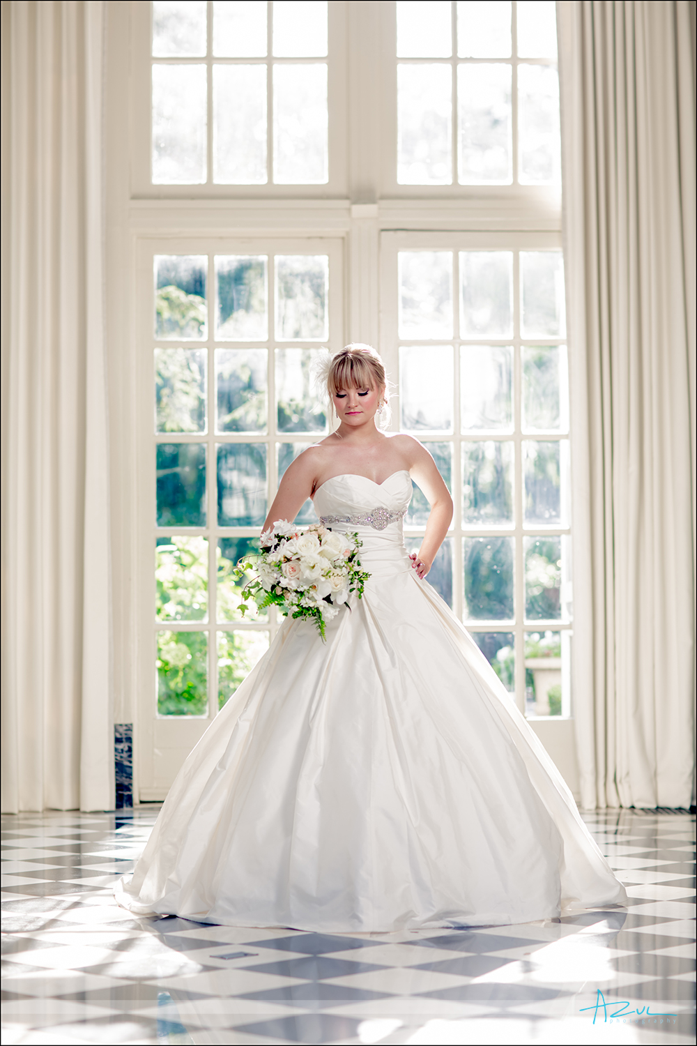 Aggie S Bridal Portraits Azul Wedding Photography Raleigh Nc