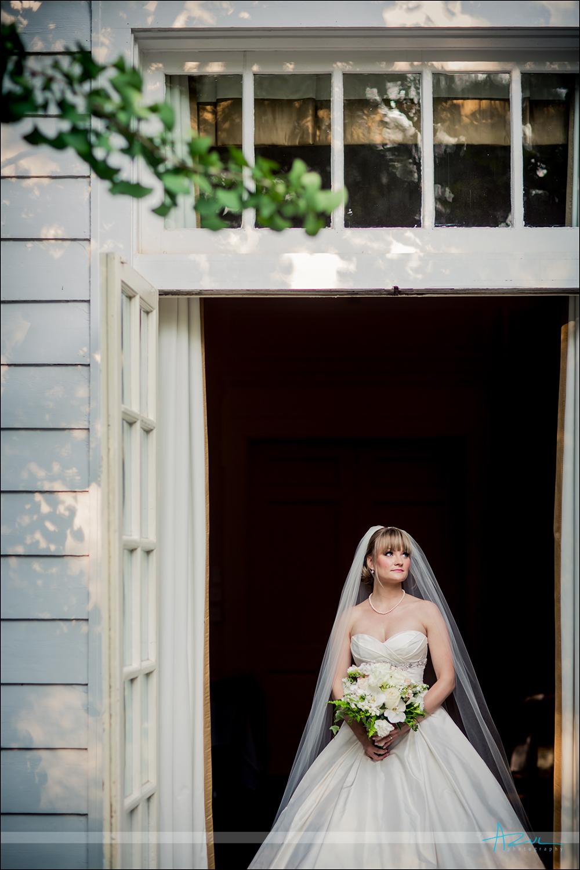 Beautiful wedding bridal portrait NC