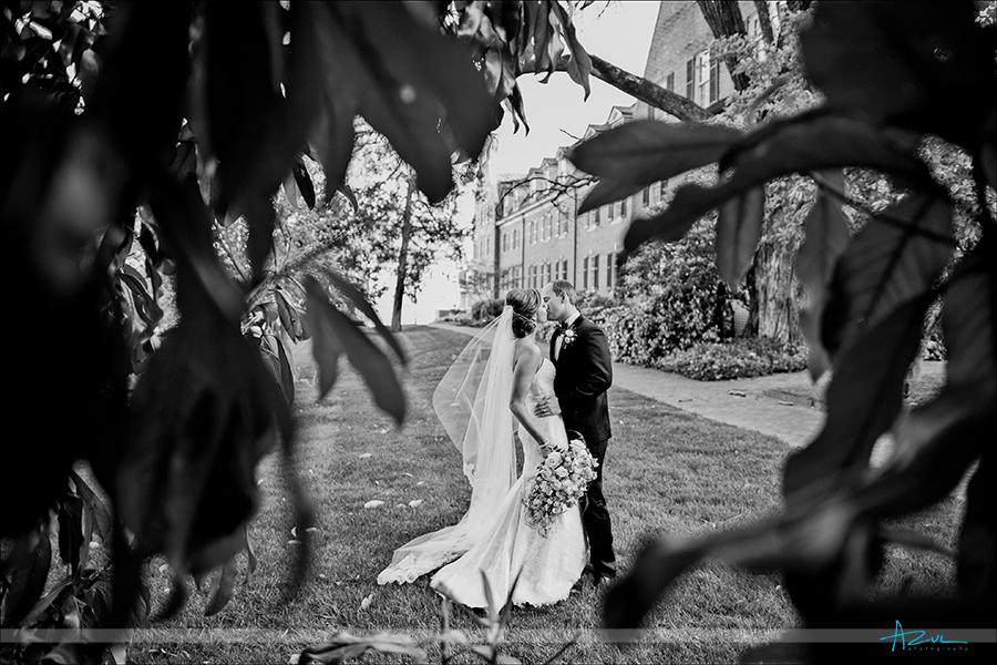 Carolina Inn wedding photographer under the magnolia tree in the summer NC