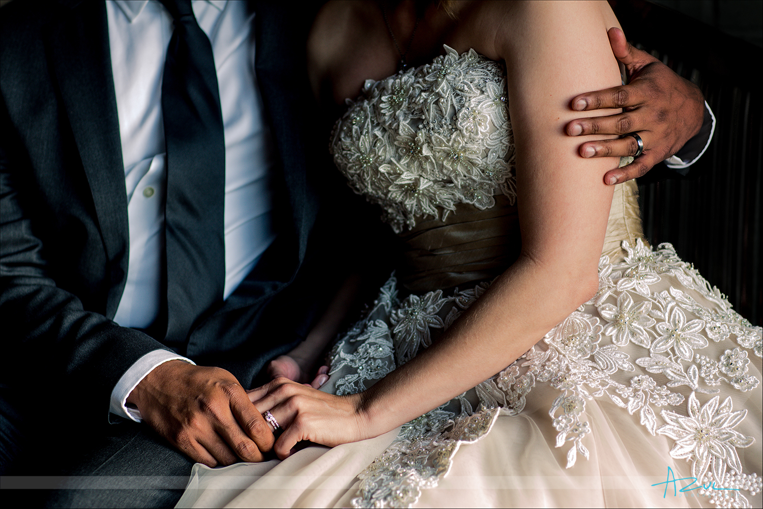 Documentary wedding detail photography shoot in Raleigh