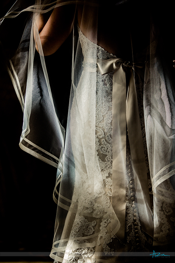 Wedding photographer finds a beautiful detail with perfect window light in Cary NC