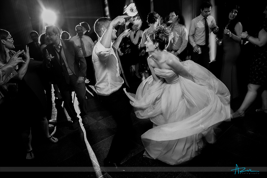 The most fun at 21c wedding is the photographer capturing true moments of the bride and groom in Durham NC