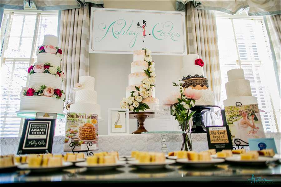 Ashley Cakes are moist and delicious wedding day cakes for brides in the Raleigh Durham area