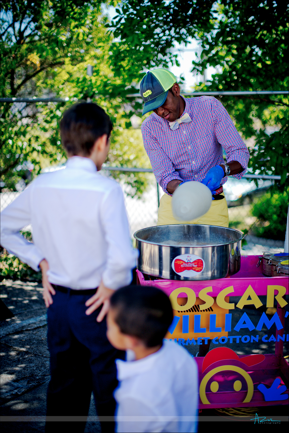 Oscar Williams Gourmet Cotton Candy is the best at a wedding, party or event in Raleigh